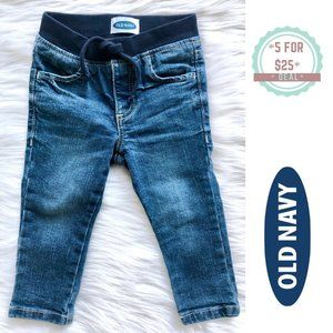 * OLD NAVY baby boy jean jeggings 12-18 months